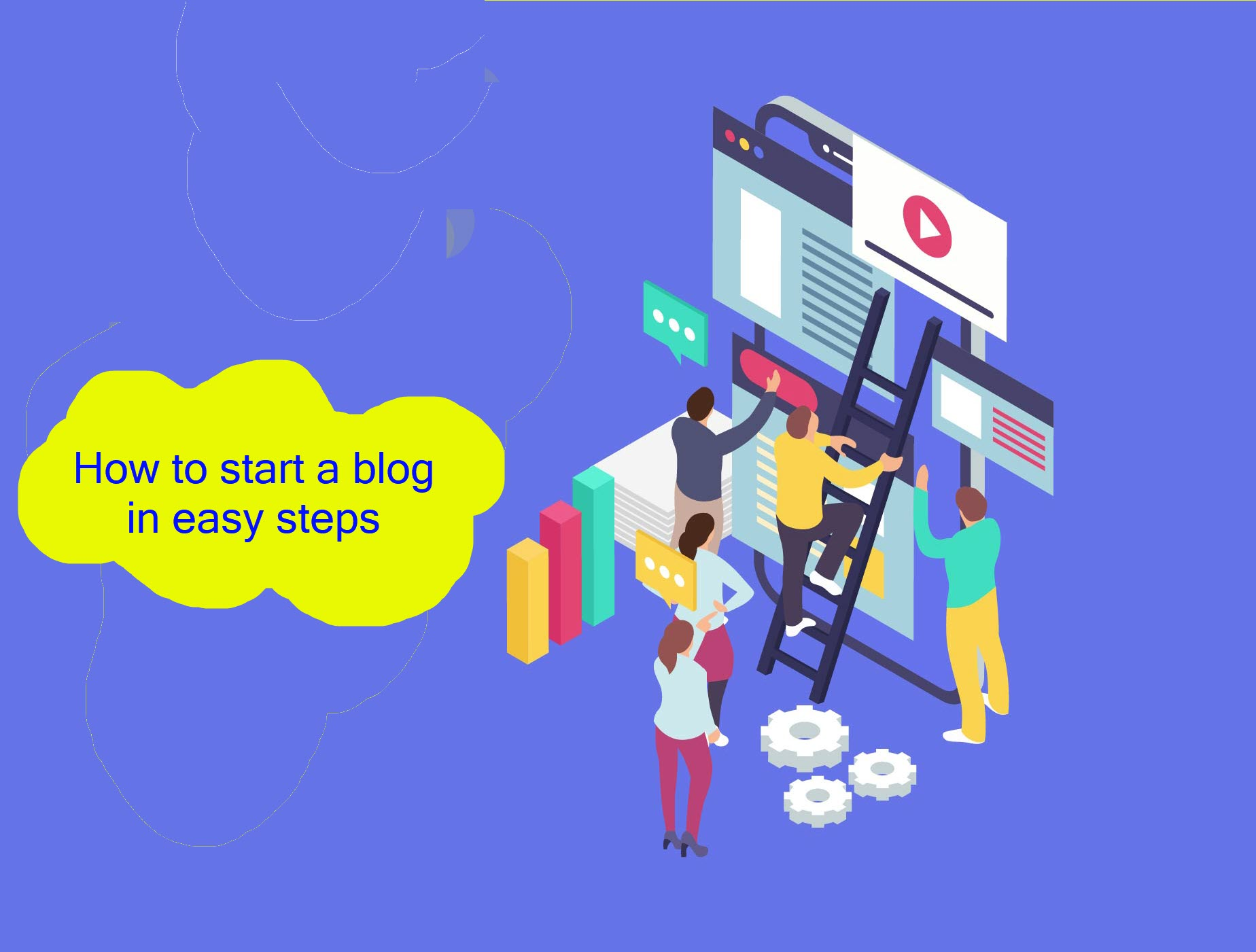 How to start a blog in easy steps
