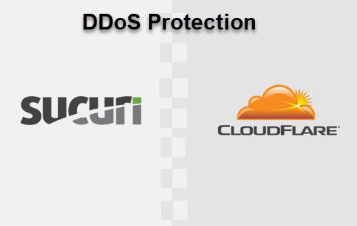 cloudflare or sucuri for DDos protection